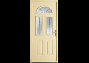 Porte acier vitrée 3 carreaux
