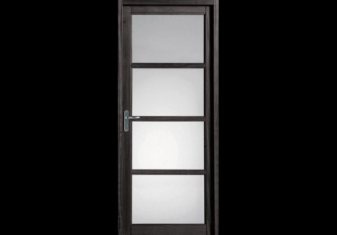 Porte intérieure vitrée 4 carreaux