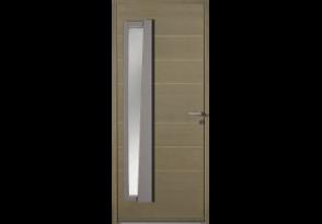 Porte vitrée verticale