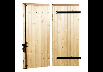 Volet battant bois à clés bois