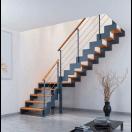 Escalier à crémaillère métal