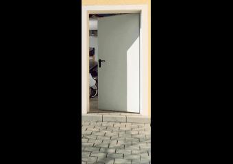 Porte de service Acier