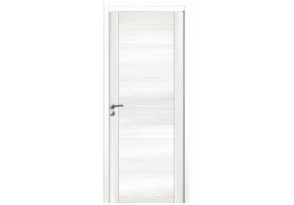 Porte intérieure pleine décor blanc
