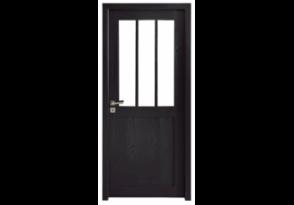 Porte intérieure style verrière atelier