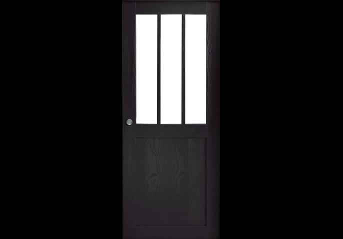 Porte coulissante style atelier