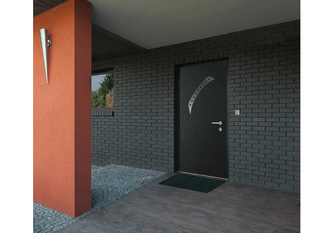 Porte blindée pleine pavillonnaire
