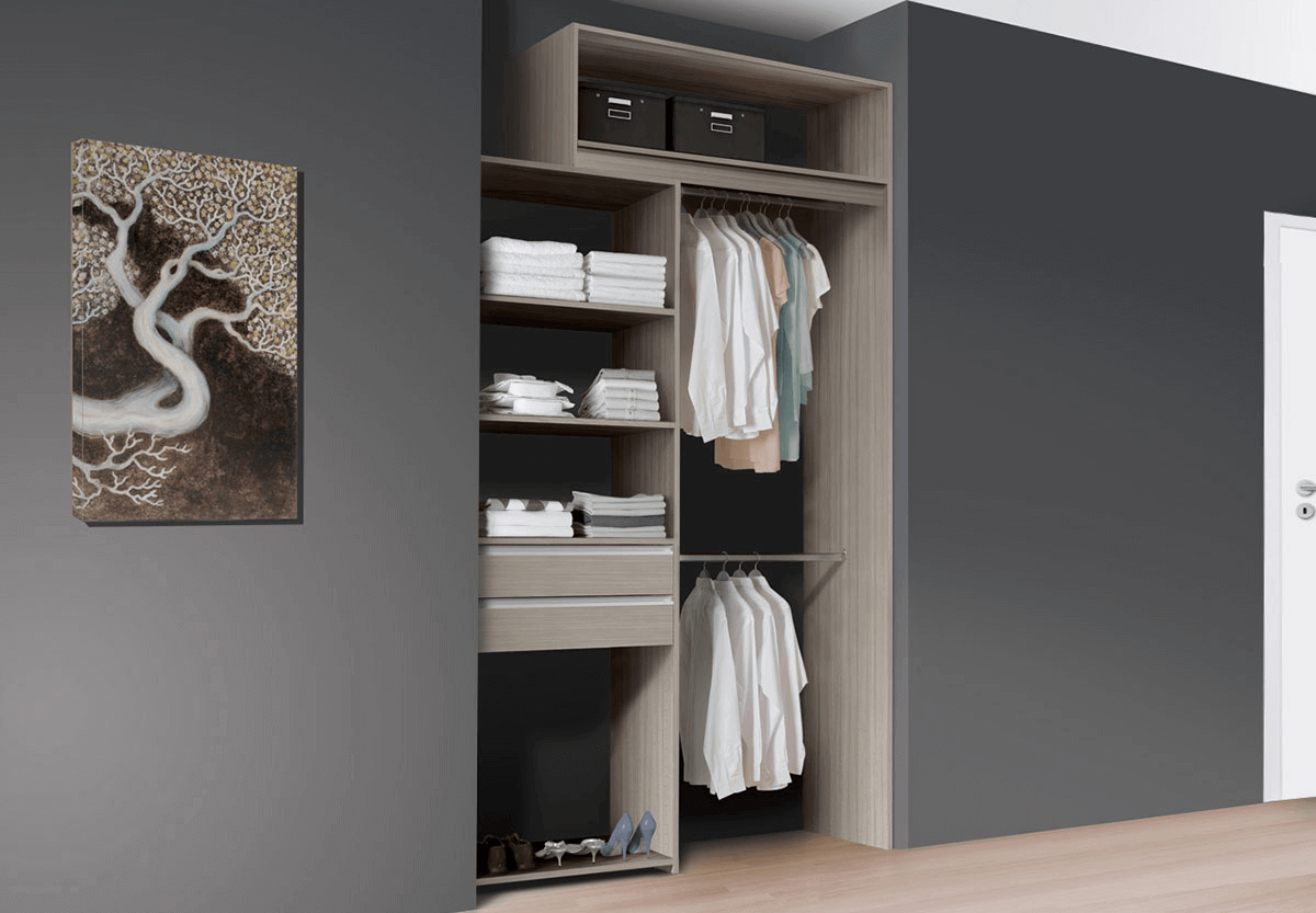Dressing 30 Cm Profondeur aménagement dressing modulaire