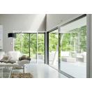 Grande baie vitrée aluminium