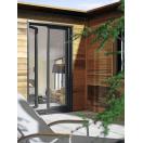 Porte-fenêtre aluminium gris anthracite
