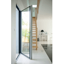 Porte-fenêtre aluminium bicoloration