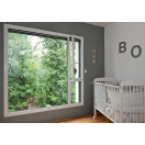 fenêtre aluminium blanche
