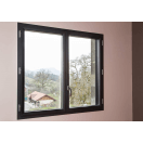 fenêtre aluminium noire